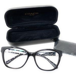 Coach 6120 Black Prescription Eyeglasses 5510